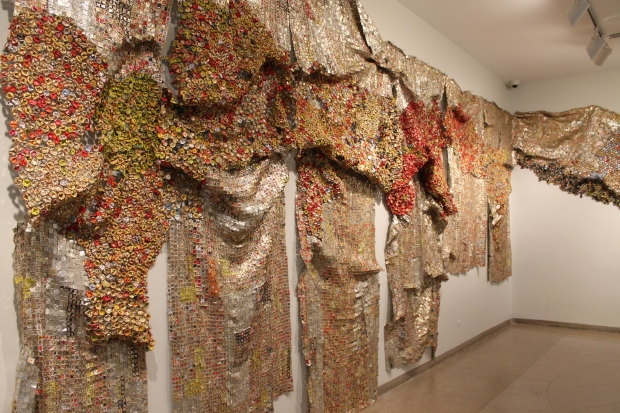 El Anatsui Brooklyn art museum 009