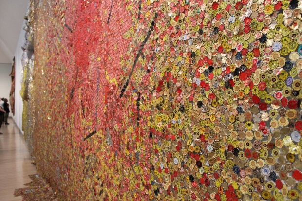 El Anatsui Brooklyn art museum 022