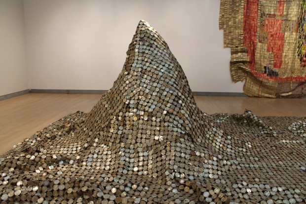 El Anatsui Brooklyn art museum 024