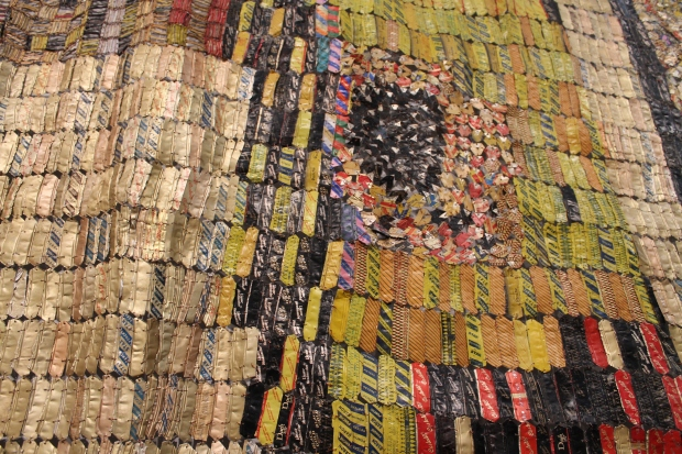 El Anatsui Brooklyn art museum 027