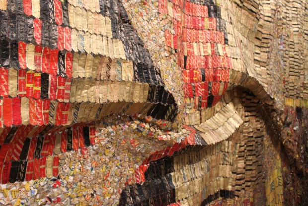 El Anatsui Brooklyn art museum 028