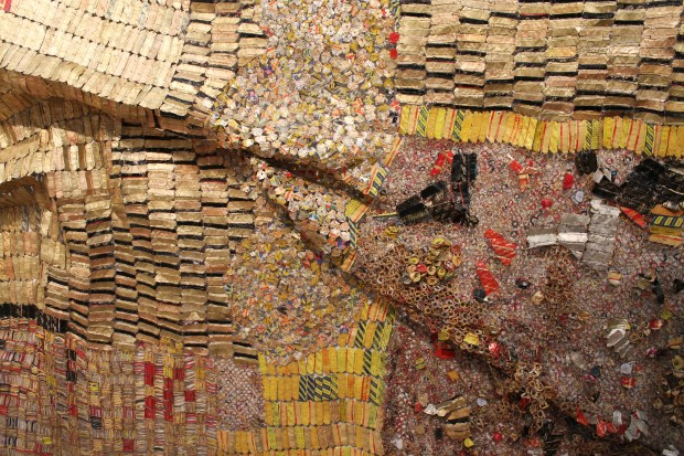 El Anatsui Brooklyn art museum 029