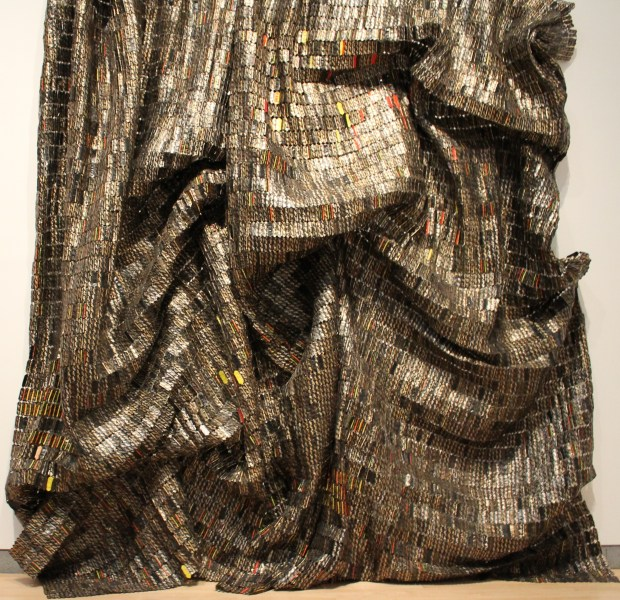 El Anatsui Brooklyn art museum 036