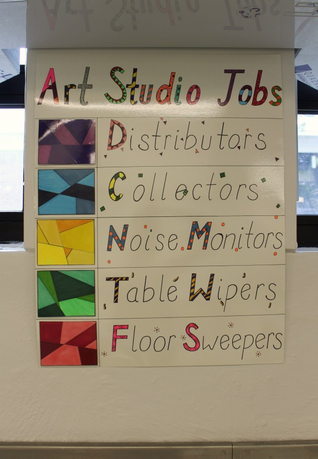 art room Toll Gate Grammar 002