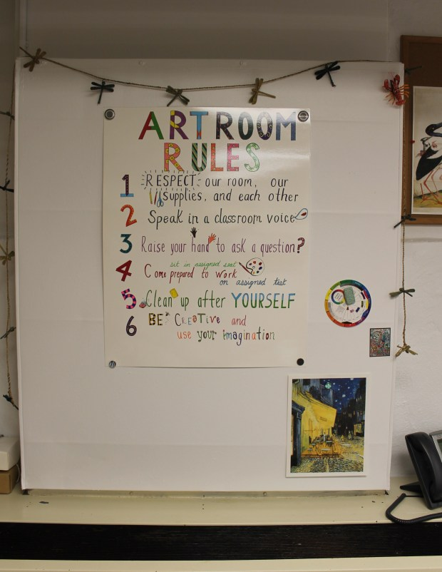 art room Toll Gate Grammar 009