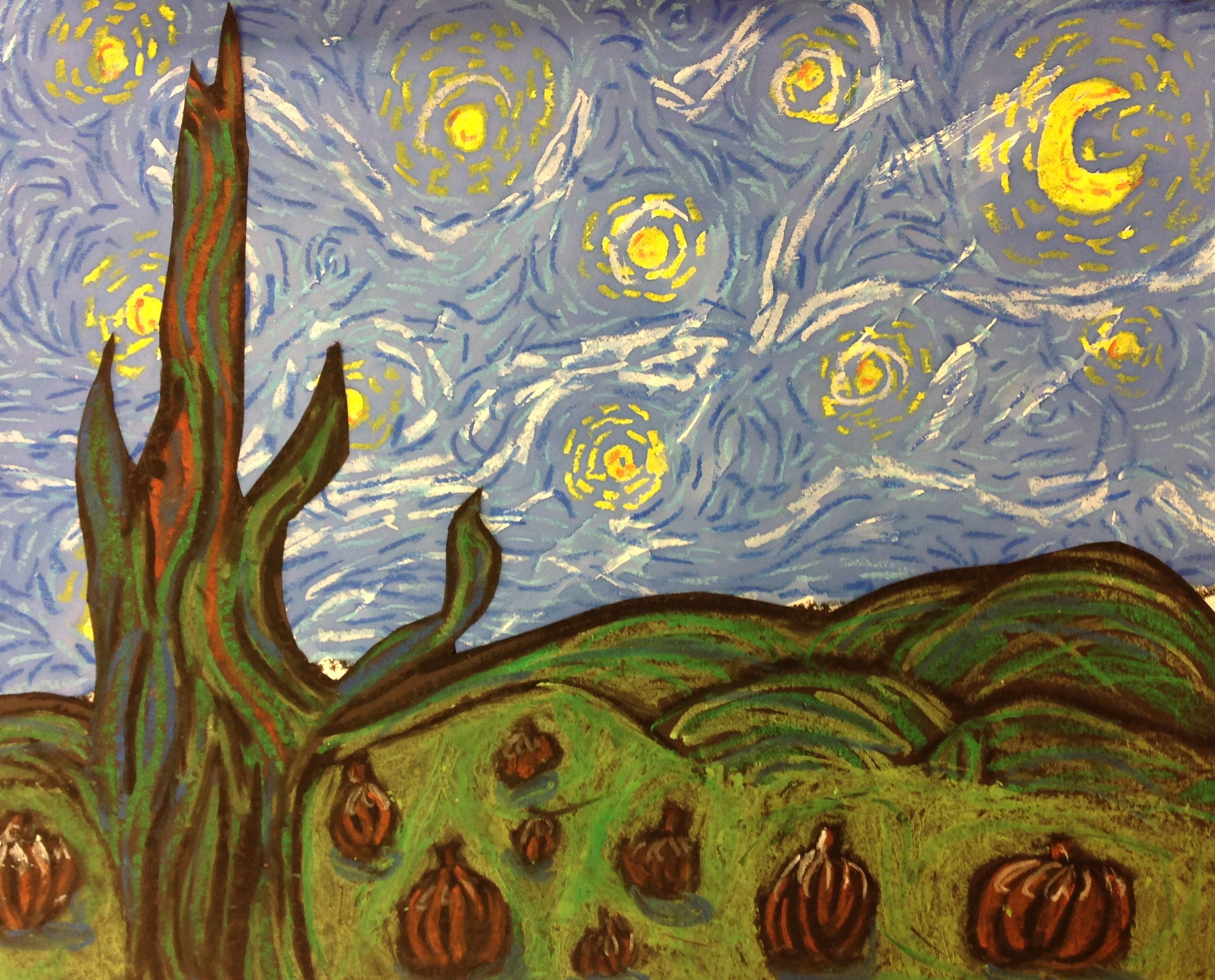 vincent van gogh essays starry night Free essay: an analysis on starry night (1889) of vincent van gogh introduction  the life span of 37 years saw vincent willem van gogh (vincent) in creating.
