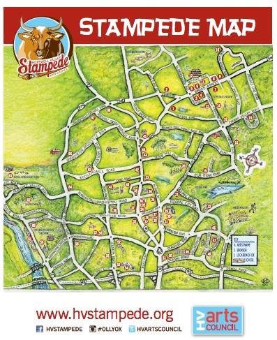Oxen map