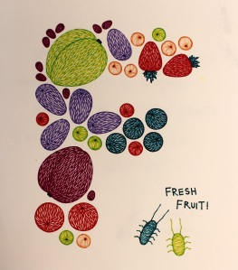 F is for Fruit