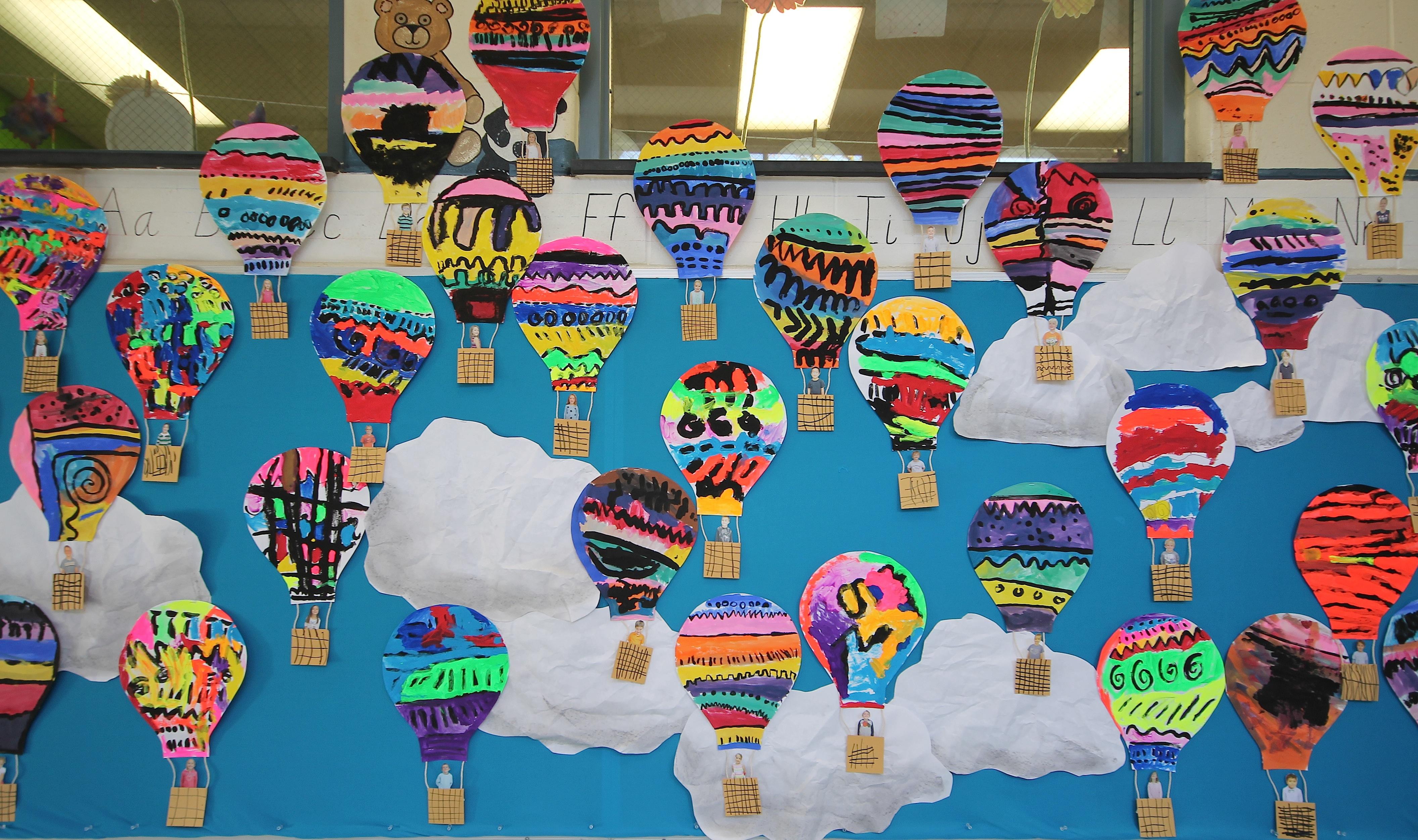 Kindergarten Art Monster CollageThe Funky Art Teacher